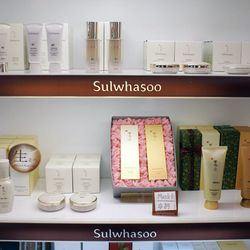 """↑ At Amore, there's an array of products for all budgets, from the affordable Laneige line (which is also stocked at Target) to holistic label <a href=""""http://us.sulwhasoo.com/"""" target=""""_blank"""">Sulwhasoo</a> and much more."""