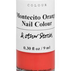 Montecito orange nail polish, $11
