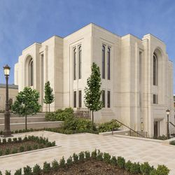 The Paris France Temple was dedicated on May 21, 2017.