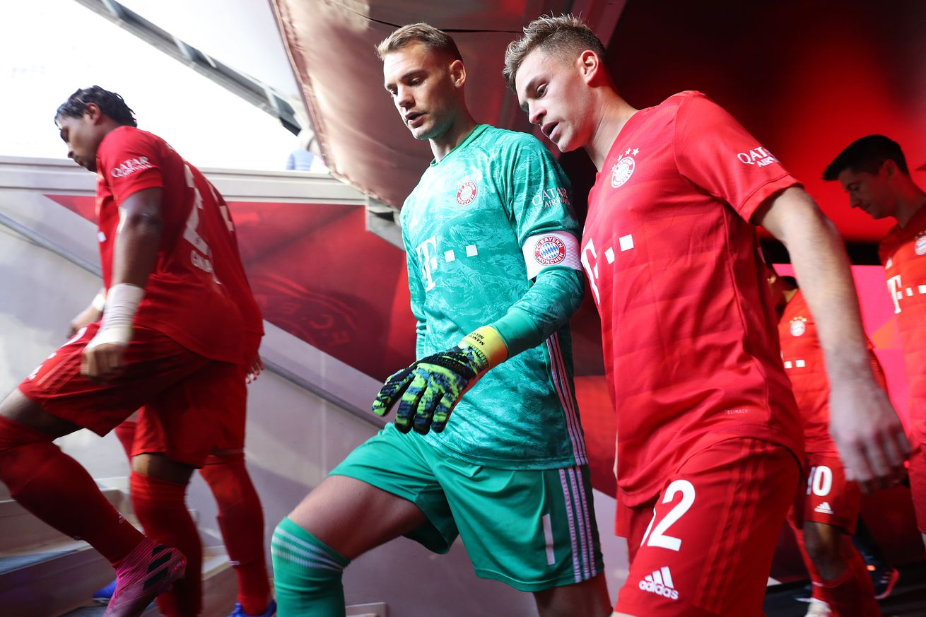 Joshua Kimmich: ?There?s no question as to who will be in goal?