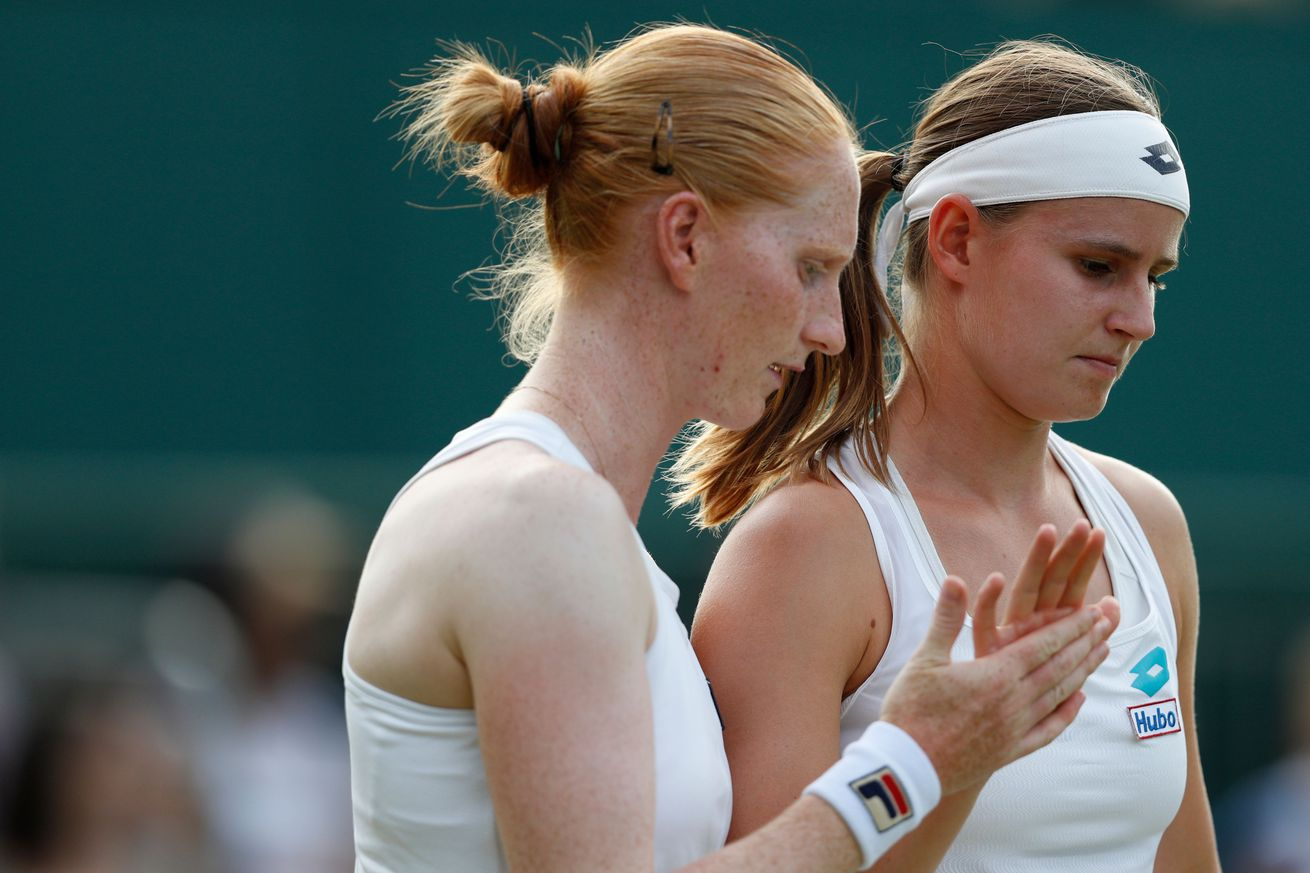 Lesbian power couple makes history at Wimbledon, speaks up for gay men in tennis