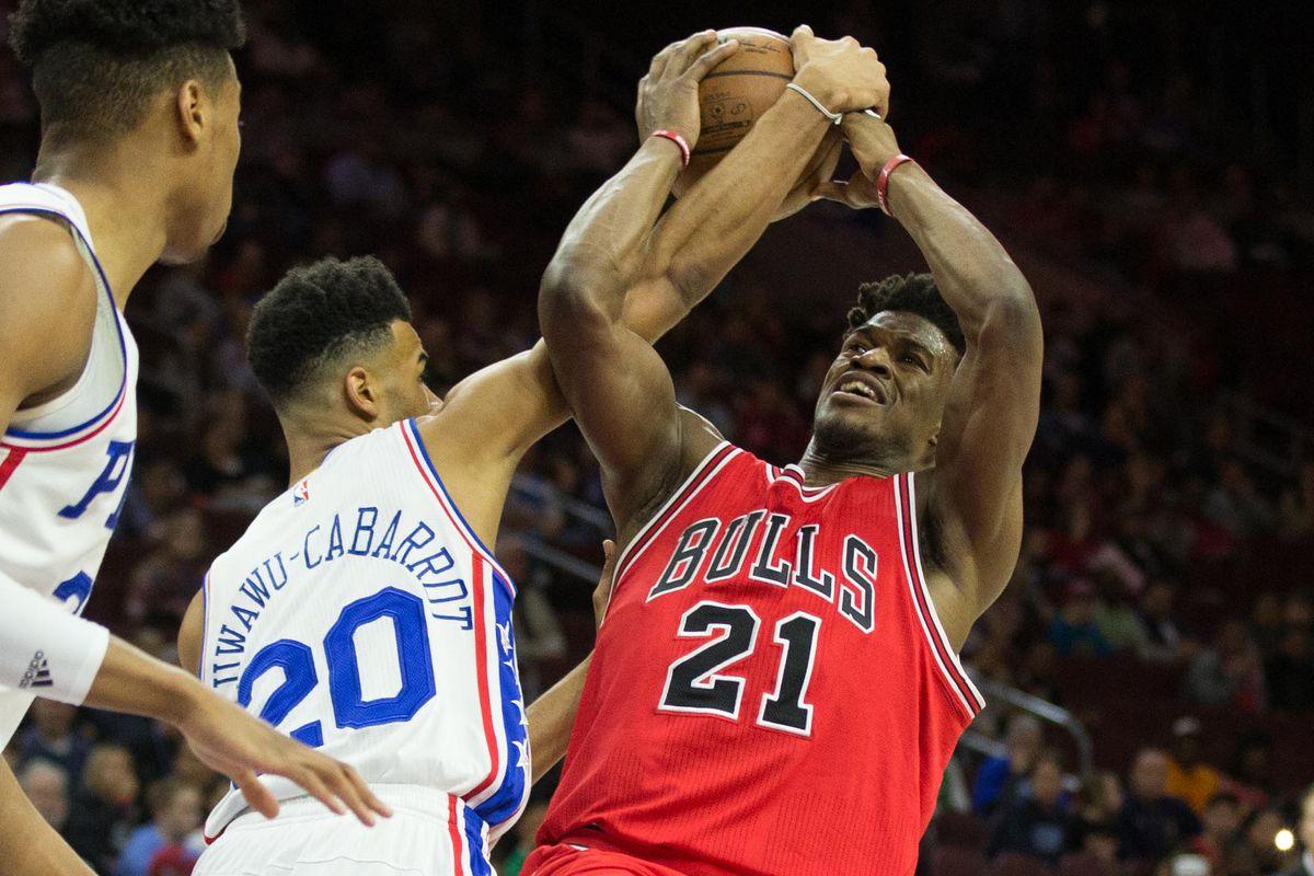 NBA: Chicago Bulls at Philadelphia 76ers