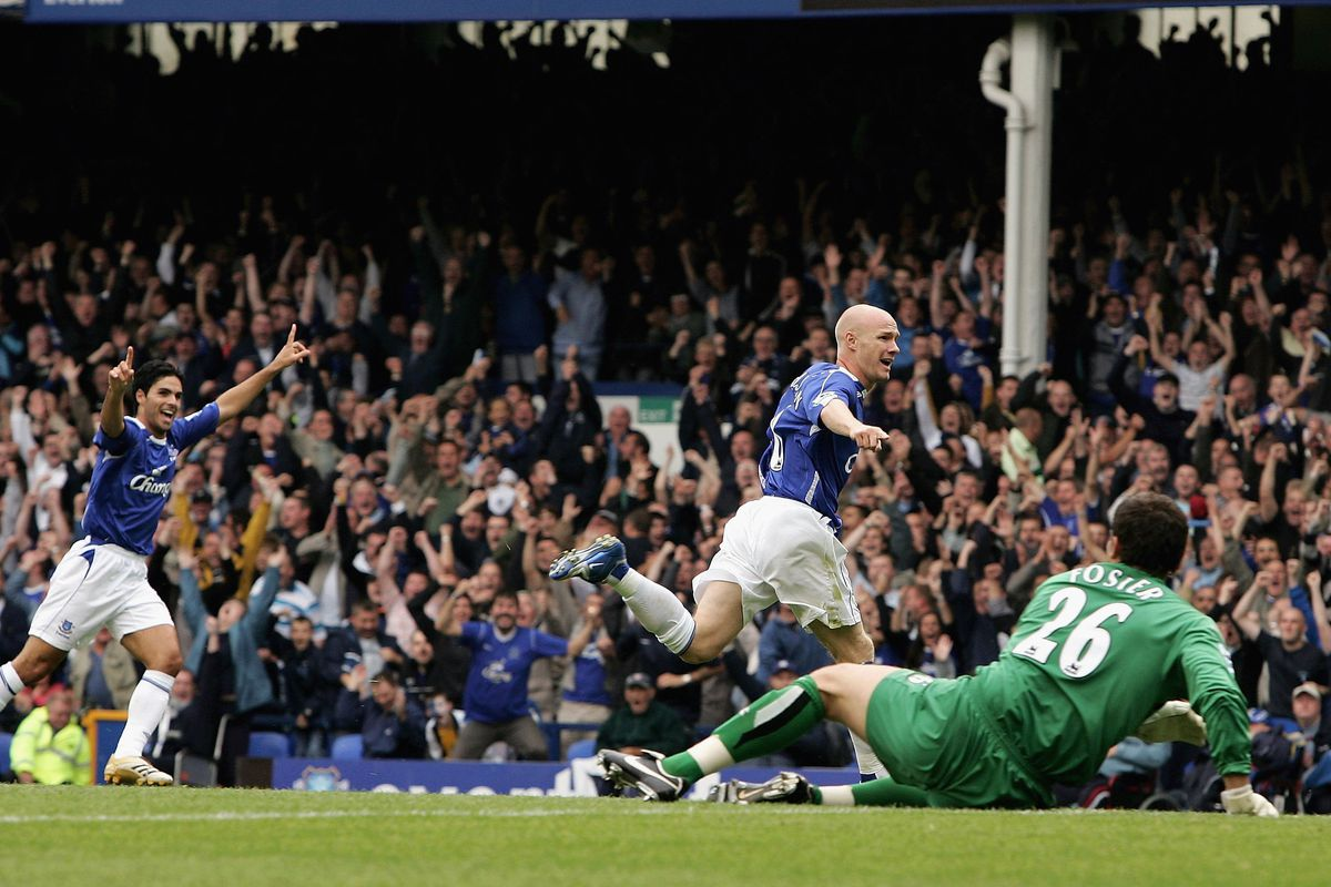 Andy Johnson scored the last time Everton played Watford at Goodison Park