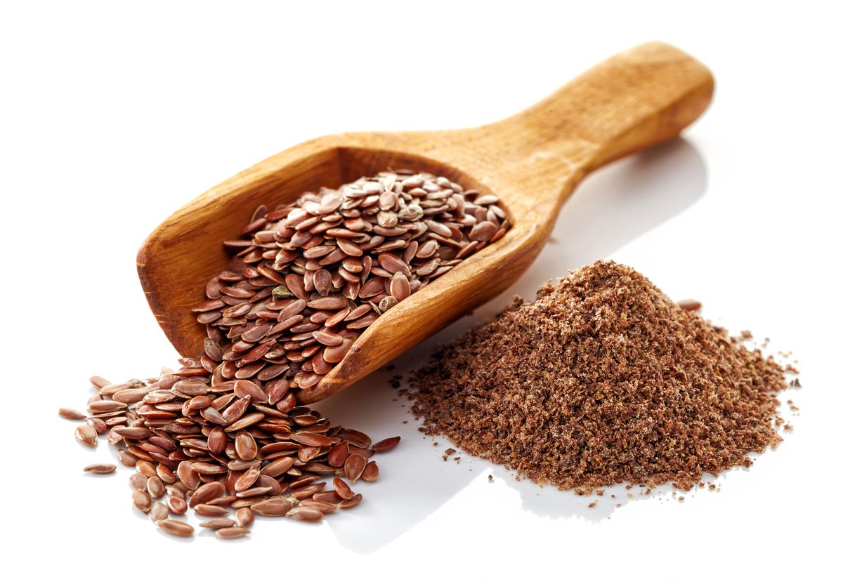 Flax seeds are best consumed ground because the hard shell of the whole seed resists digestion.
