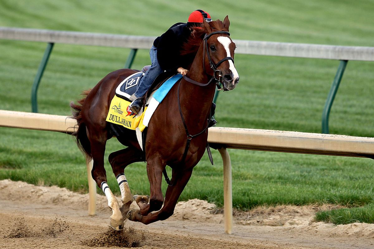 Dullahan, winner of the 2012 Grade 1 Pacific Classic at Del Mar on Sunday, August 26th.