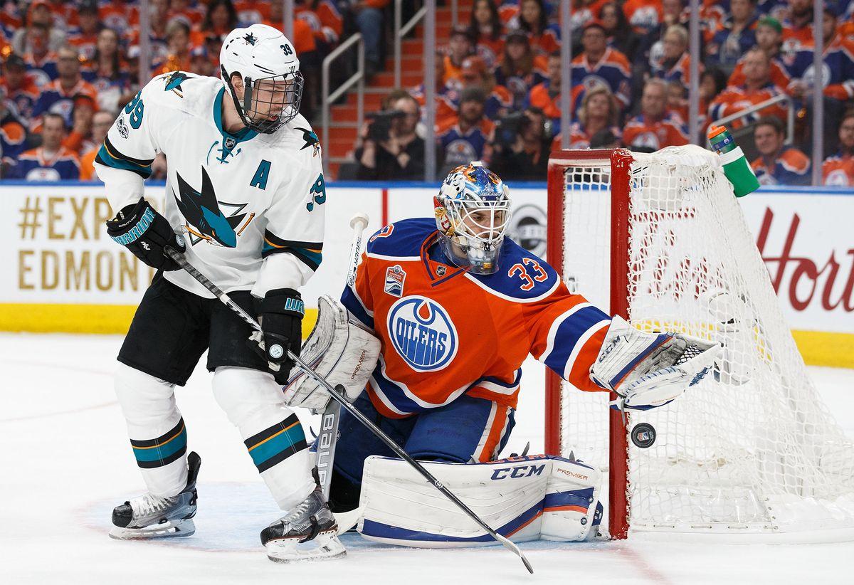 San Jose Sharks v Edmonton Oilers - Game Two