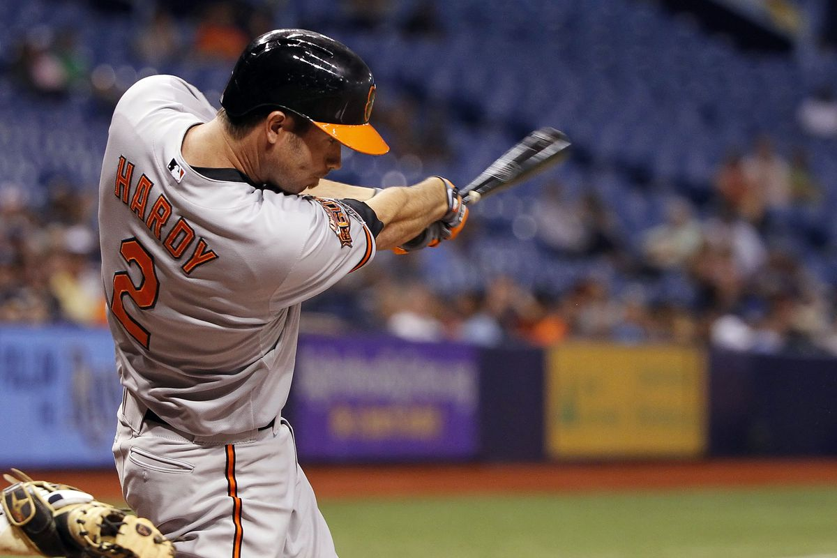 J.J. Hardy and the Orioles take on the Houston Astros