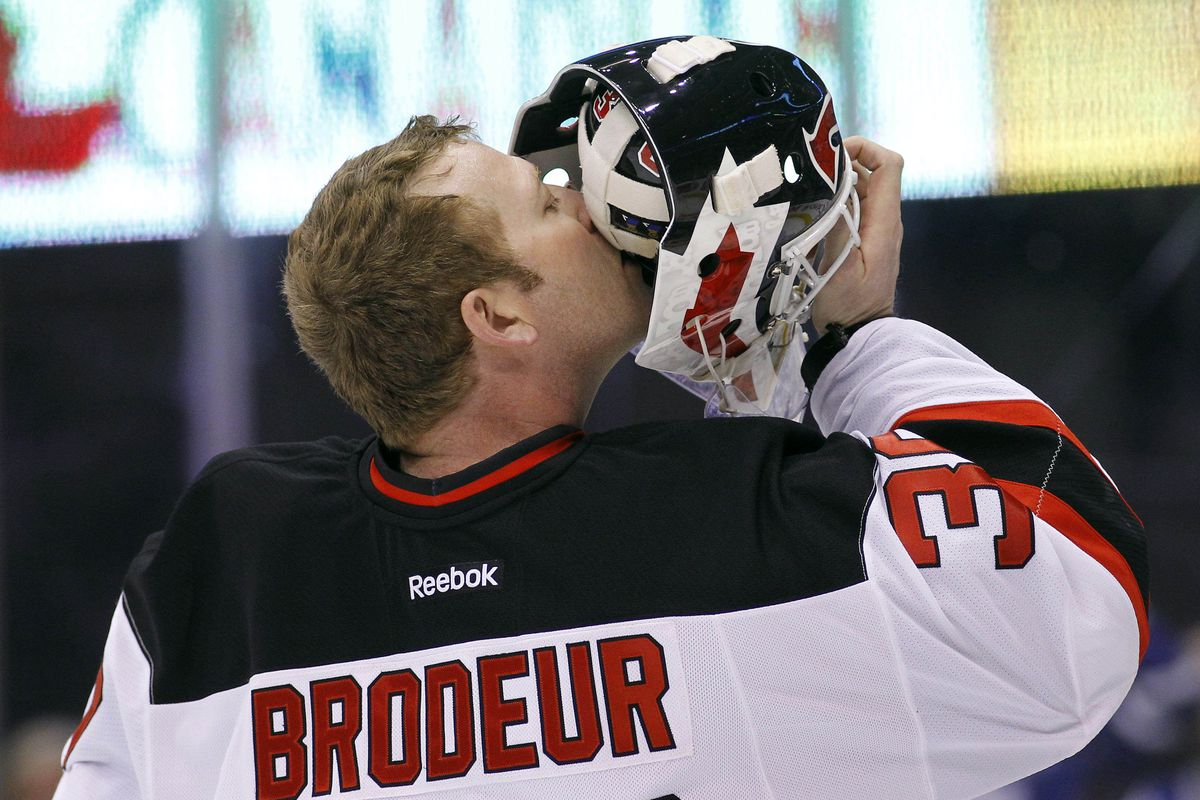 Why Martin Brodeur (Possibly) Being on the Cover of NHL 14 Matters ... dab6e79aa