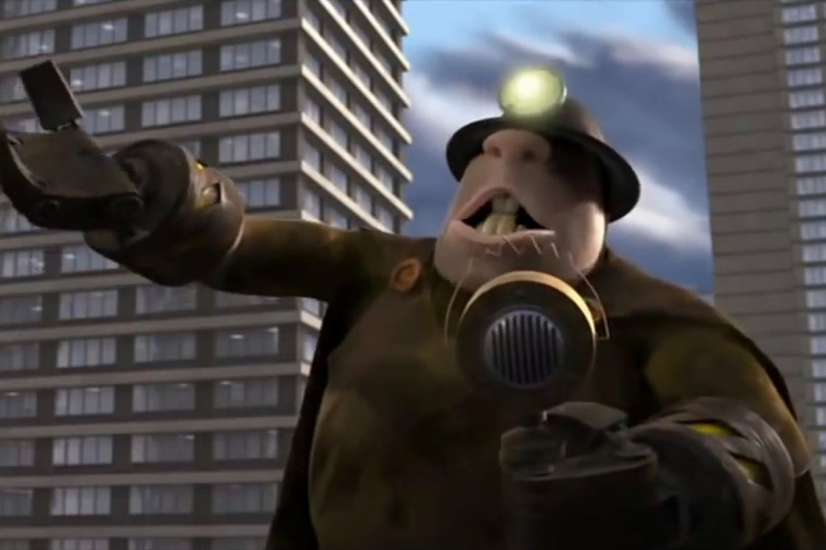 The Incredibles - The Underminer speech