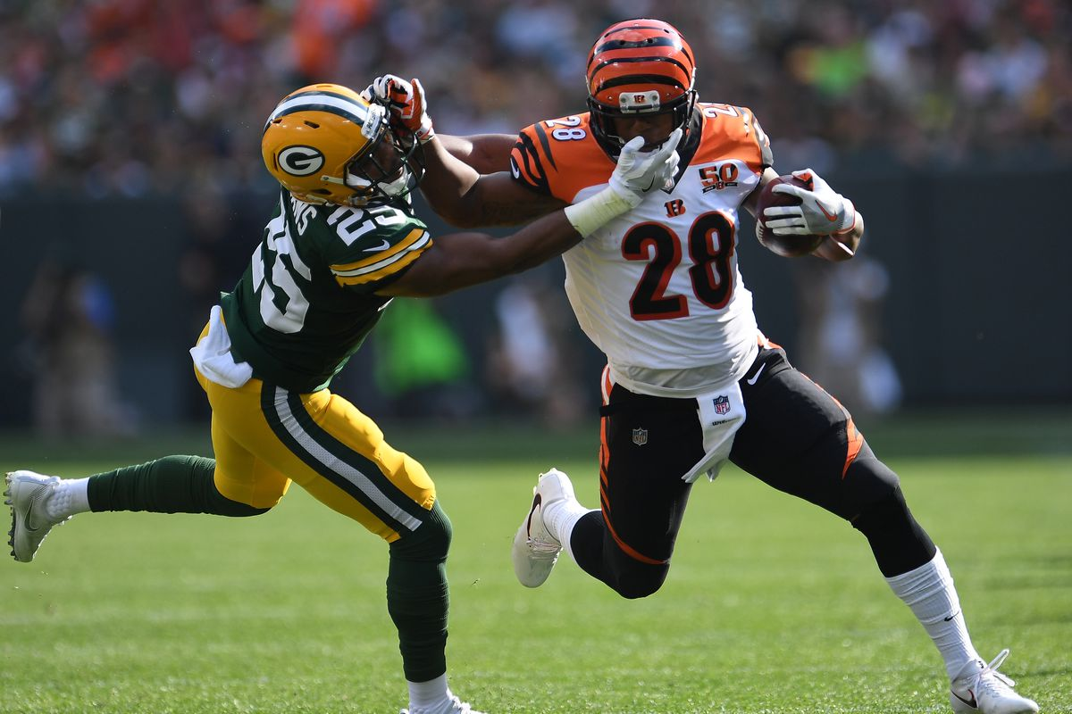 Cincinnati Bengals vs Green Bay Packers
