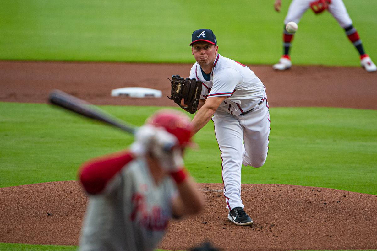 MLB: AUG 22 Phillies at Braves