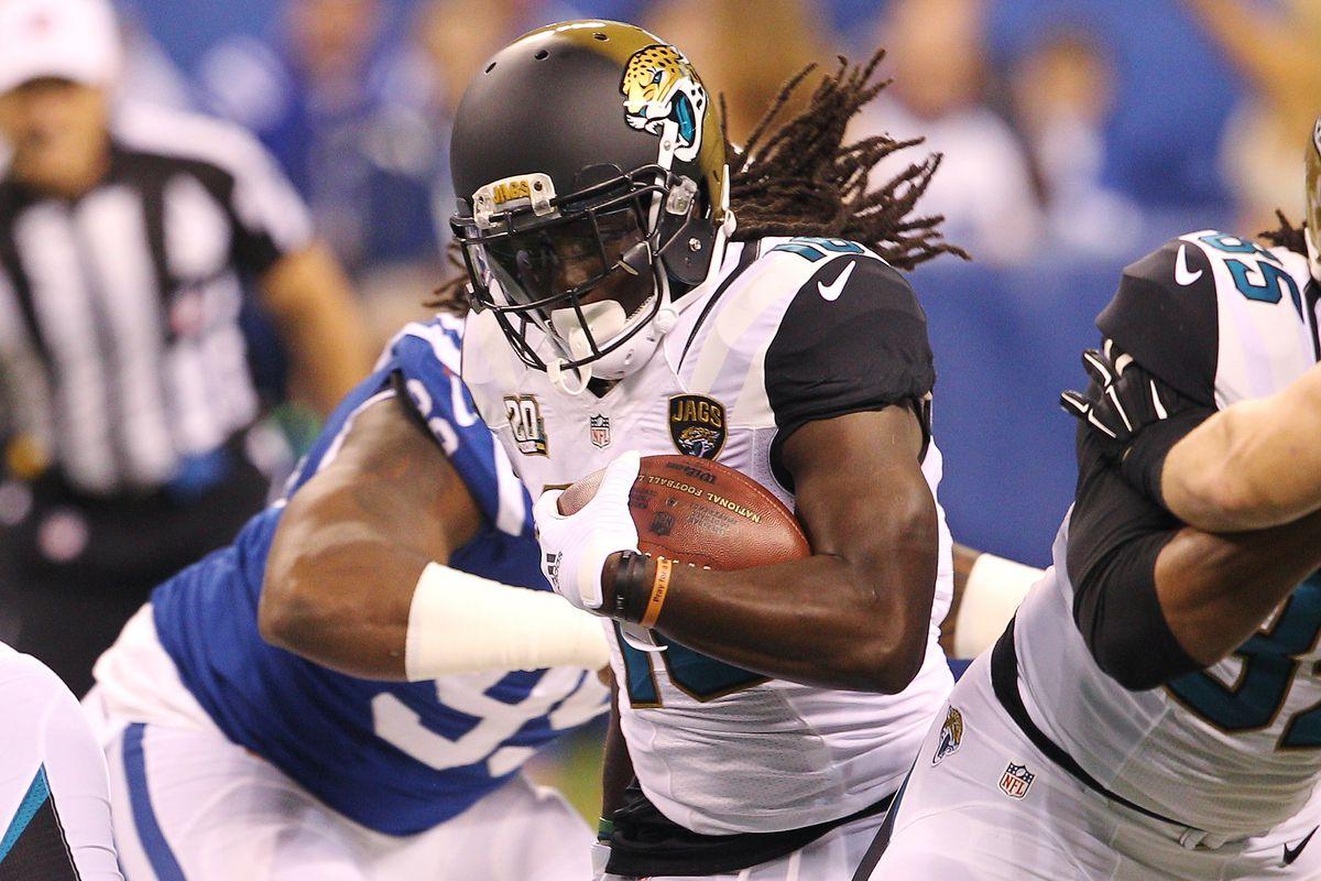 Jacksonville running back Denard Robinson