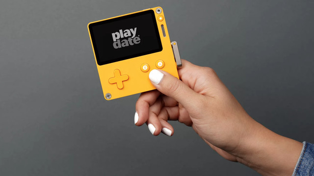 Handheld games device Playdate looks adorable and innovative