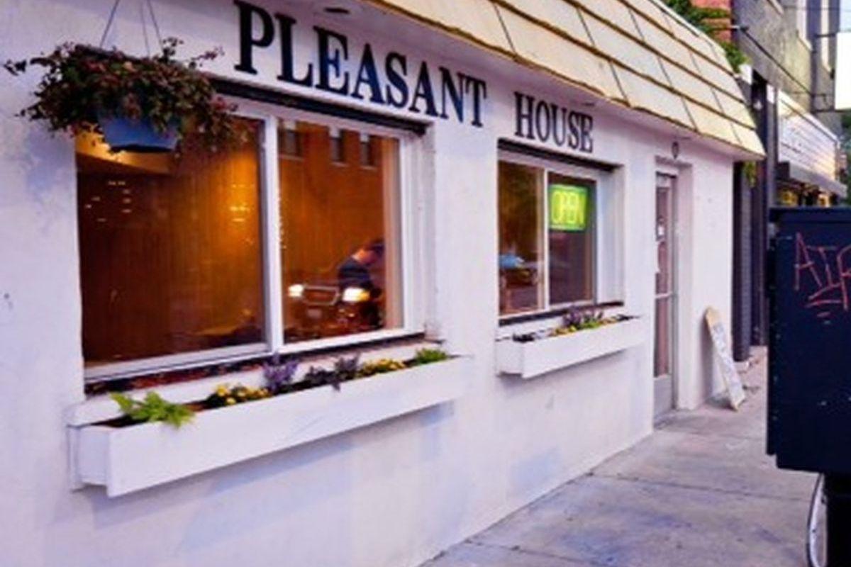 The original Pleasant House Bakery in Bridgeport