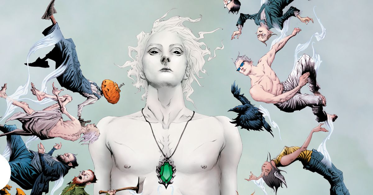 The Sandman is back with four new books in The Sandman
