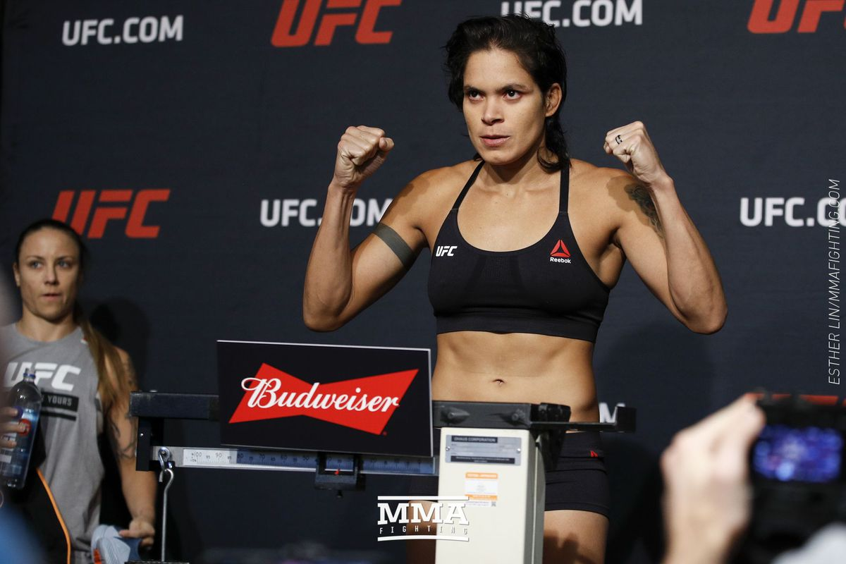 Amanda Nunes reveals reason behind withdrawal from Valentina Shevchenko  title fight at UFC 213