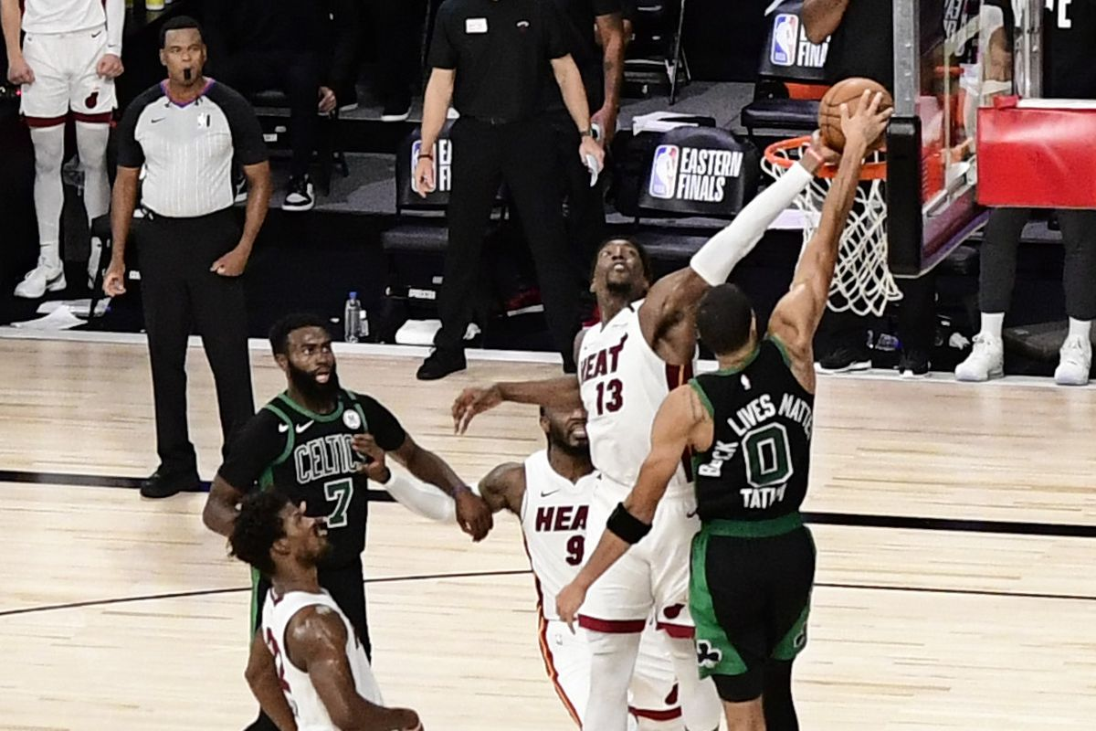Heat Vs Celtics Tv Schedule Channel Time Odds Picks Live Stream For Game 2 Of Eastern Conference Finals Draftkings Nation