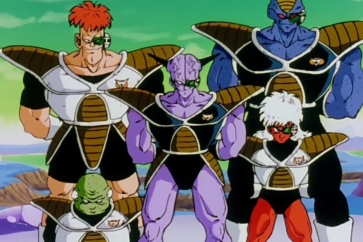 The Ginyu Force Dragon Ball Z