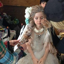"""Utah local, and 11-year-old Lexi Walker performed """"Let It Go"""" in a YouTube video that now has more than 18 million views. Makeup was done by Tara Starling."""