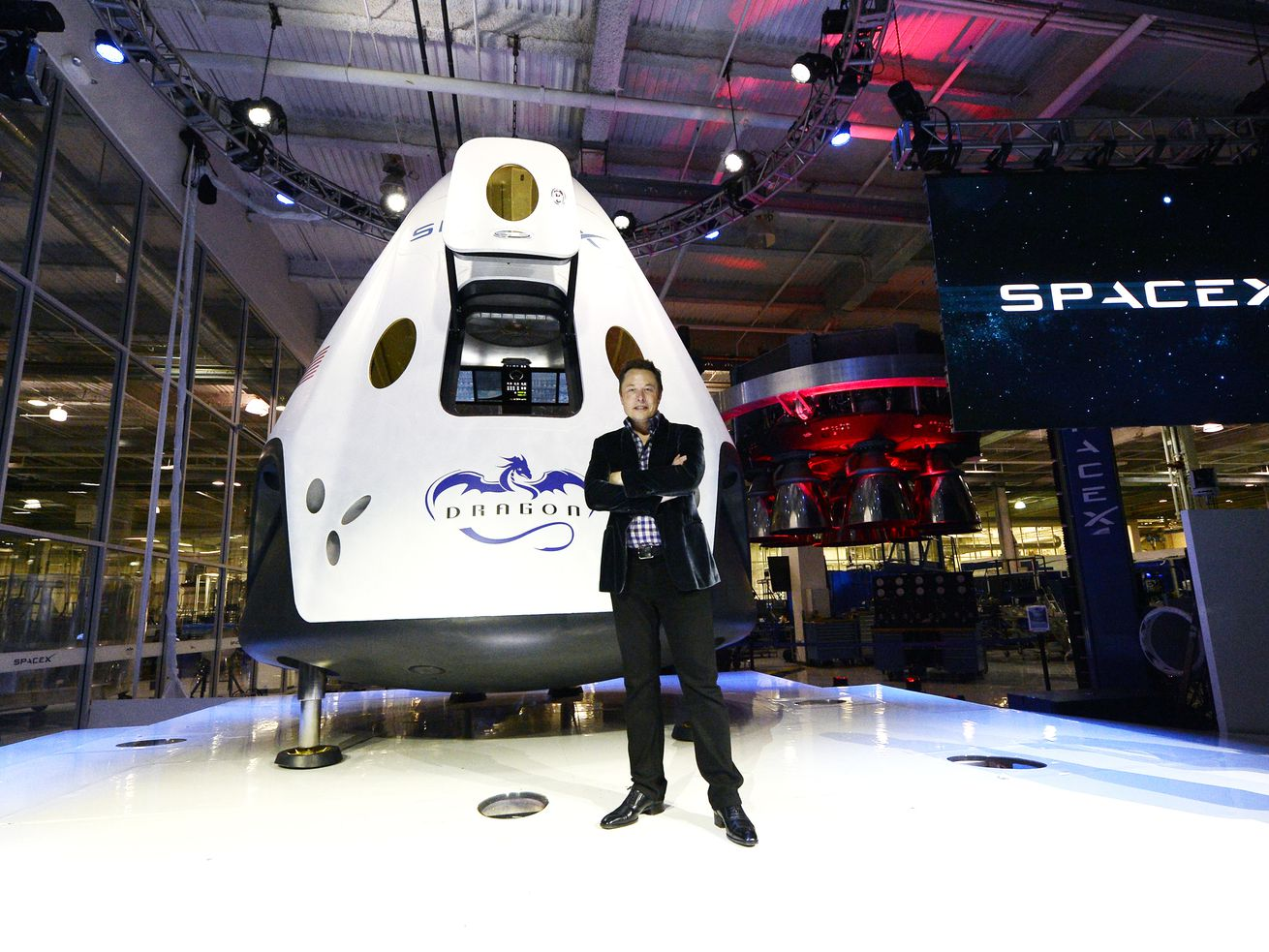 SpaceX wants to solve Earth's problems by rocketing people to Mars.