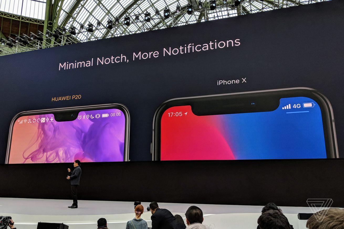 <em>Huawei P20 Pro launch in Paris, March 2018.</em>