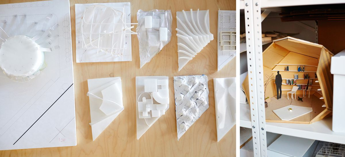 Details of models from around the SO-IL office.