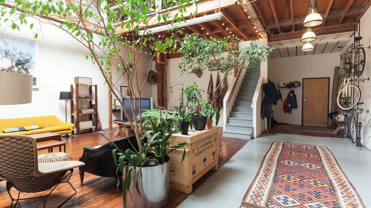 Roommates Share Eclectic Style In An Oakland Live Work Loft