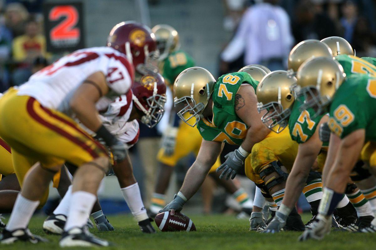 Football - NCAA - Notre Dame vs. USA