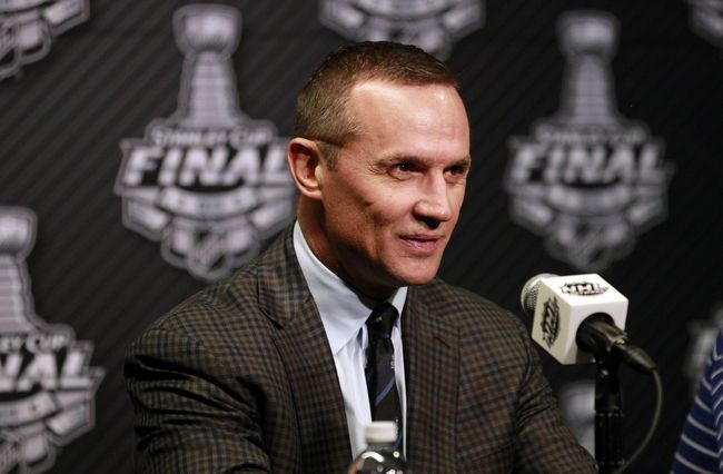 Steve Yzerman has built a nice foundation in Tampa Bay. (Courtesy of Kim Klement/USA Today Sports)