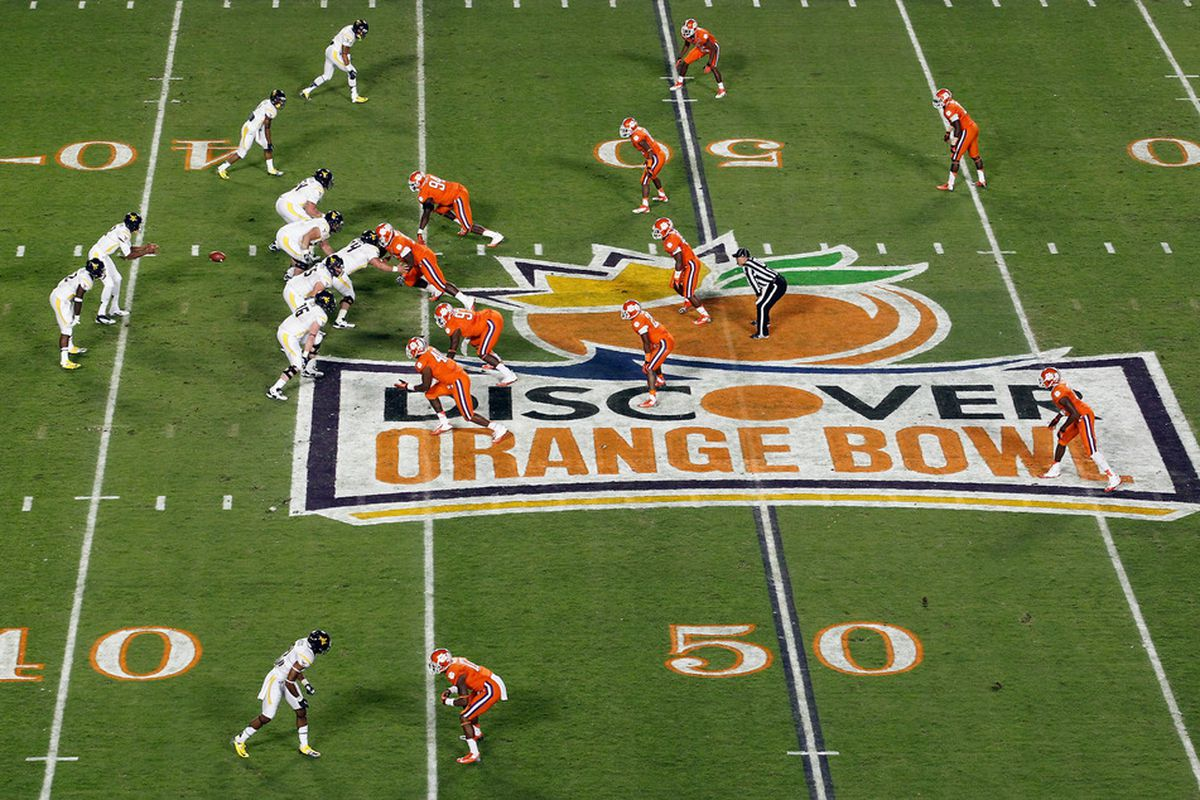 The ACC and the Orange Bowl are tied into a long-term deal (Photo by J. Meric/Getty Images)