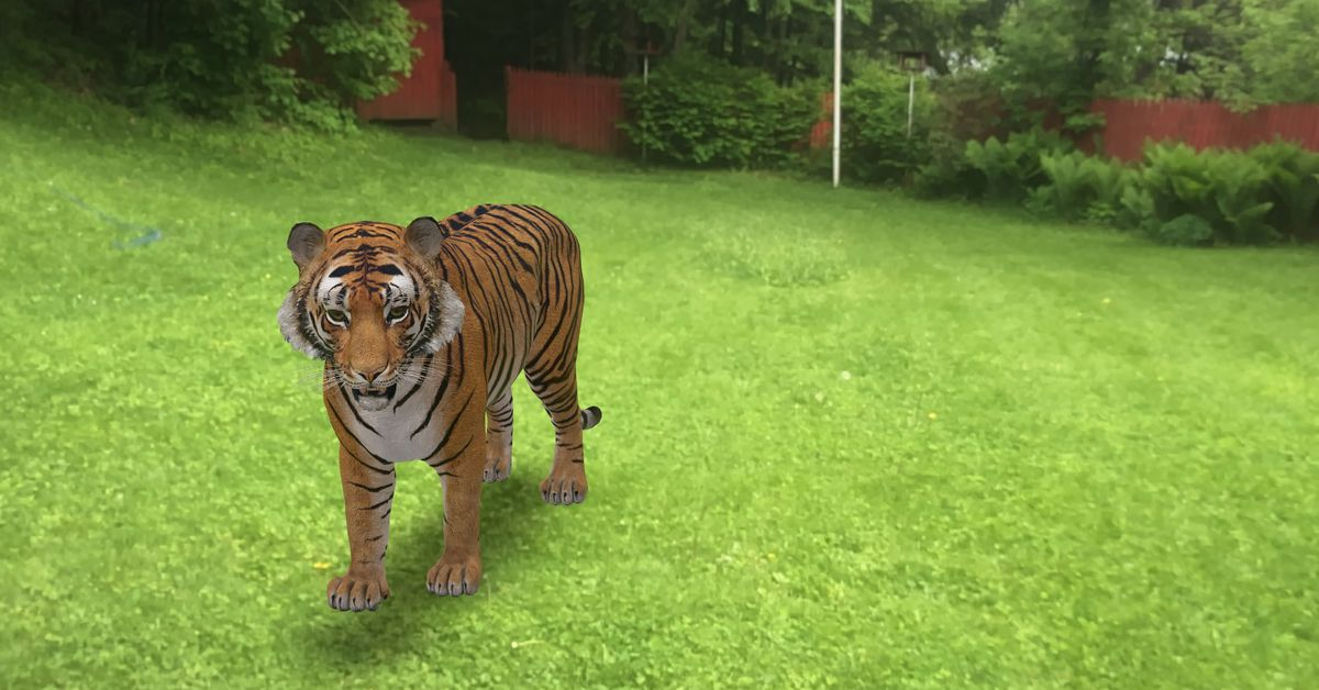Here's how to look at life-sized animals in AR through Google Search