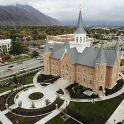 The Provo City Center Temple on Oct. 29, 2015.