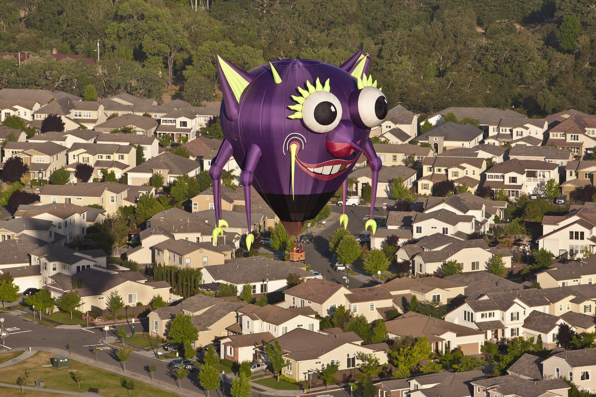 Sonoma County Hosts Hot Air Balloon Classic