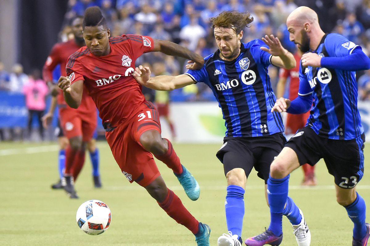 First Leg Of Toronto FC Vs Montreal Impact Tie Breaks TV