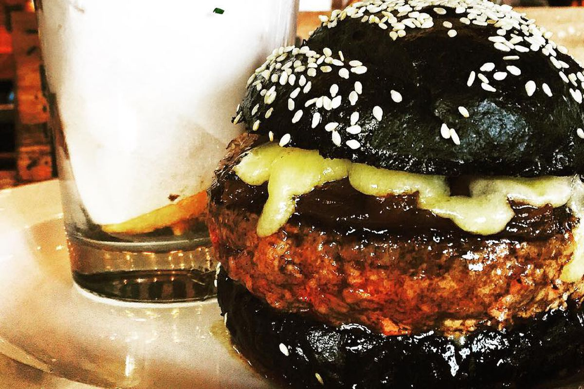 Owen & Engine's Halloween Burger