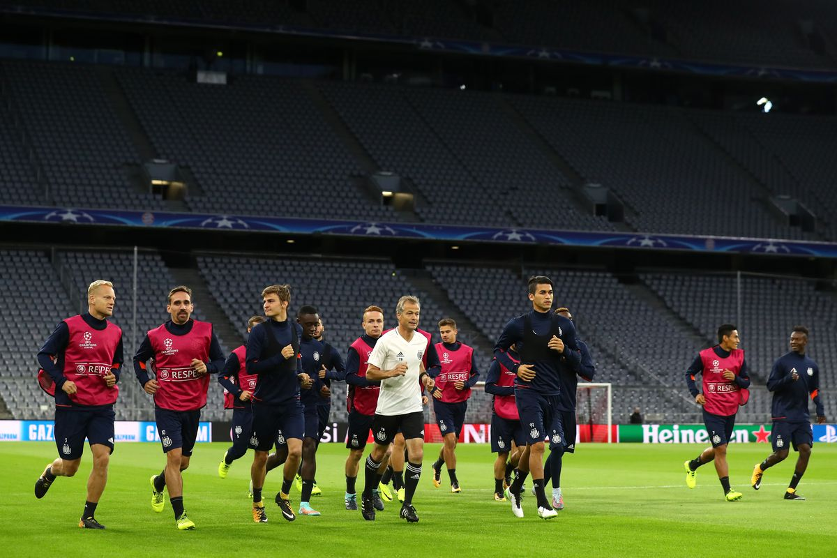 RSC Anderlecht Training And Press Conference