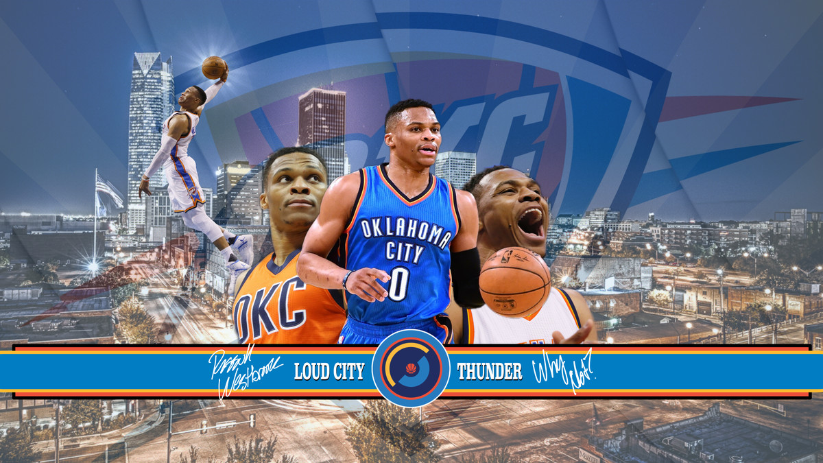 Oklahoma City Thunder Wallpaper Of The Month Russell
