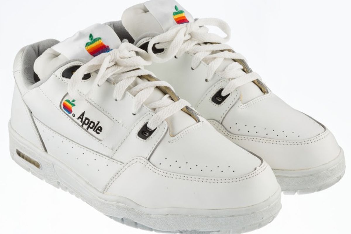 Bidding for vintage Apple sneakers starts at $15000