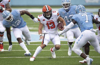 NCAA Football: Sryacuse at North Carolina