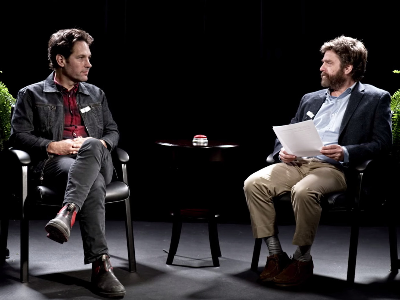 Paul Rudd's 'Between Two Ferns: The Movie' Sorta Uncut Extended Interview