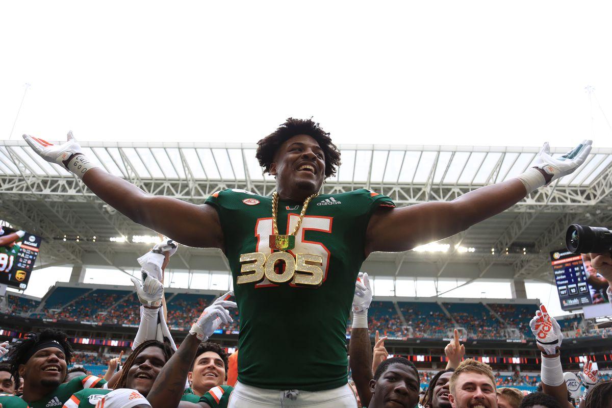 NCAA Football: Central Michigan at Miami