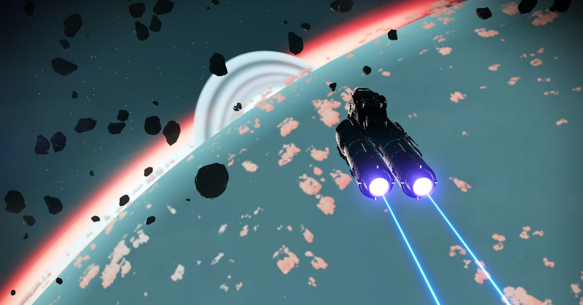 No Man's Sky First Intergalactic War run by role-players, explained