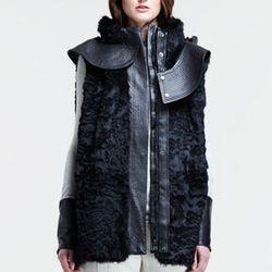"<strong>Helmut Lang</strong> Hooded Rabbit Fur Vest, <a href=""http://www.neimanmarcus.com/p/Helmut-Lang-Hooded-Rabbit-Fur-Vest-vest/prod161400058___/?icid=&searchType=MAIN&rte=%252Fsearch.jsp%253FN%253D0%2526Ntt%253Dvest%2526_requestid%253D75943&eItemId=p"