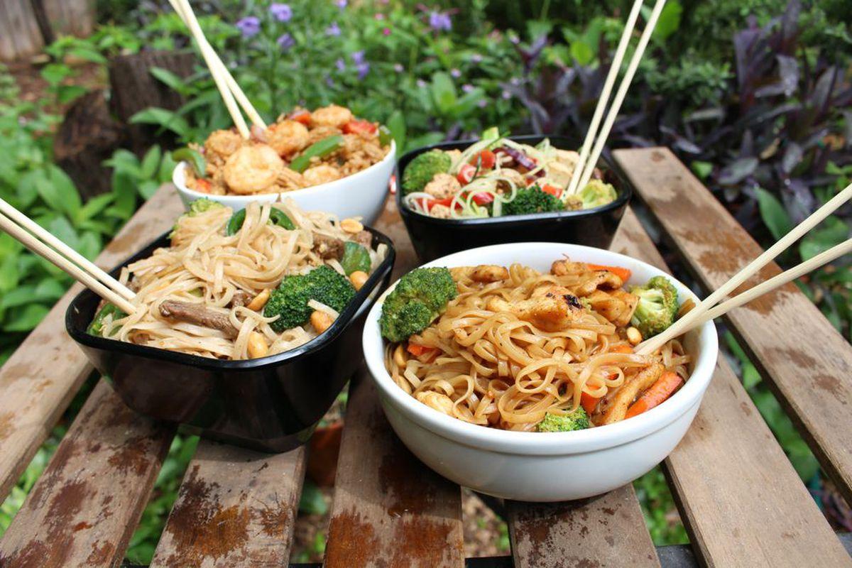 Noodles at Woko Loco