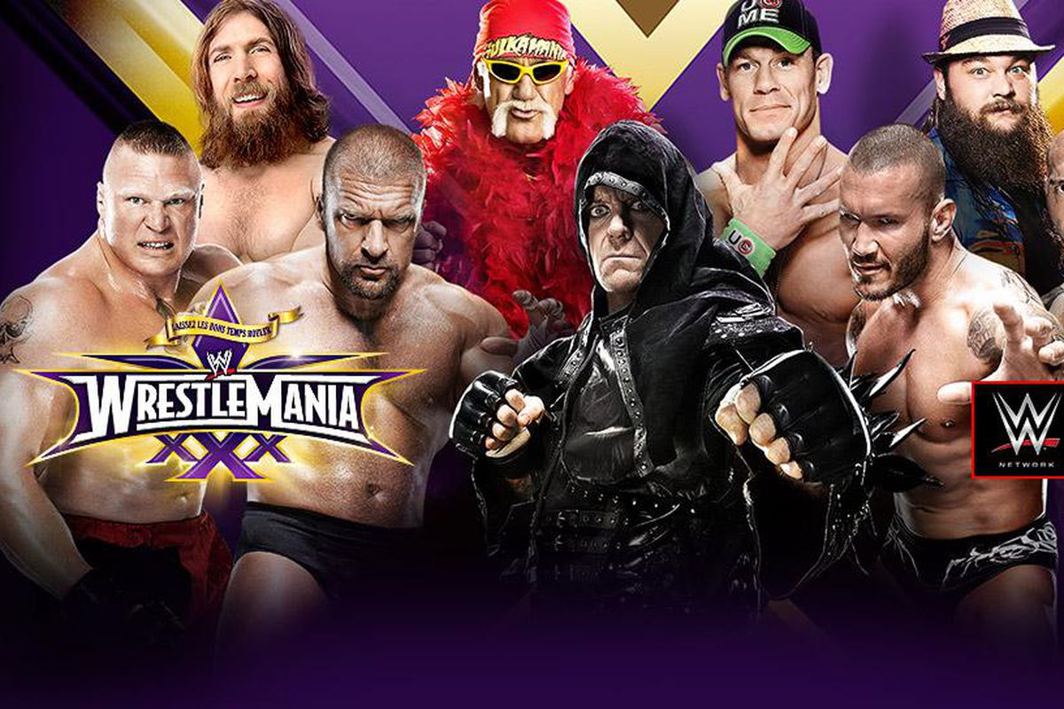 WrestleMania 30 result...