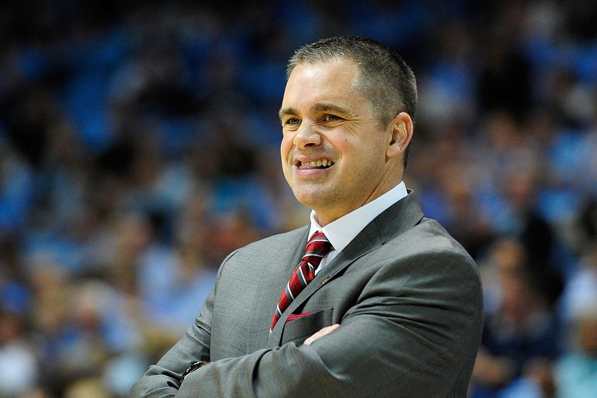 Chris Holtmann, seen here struggling to control his bowels.