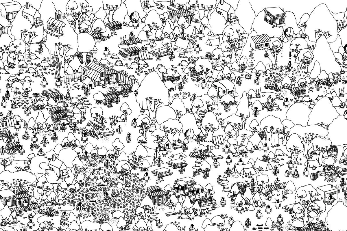 wheres spot coloring pages | Hidden Folks is the Where's Waldo? game you didn't know ...