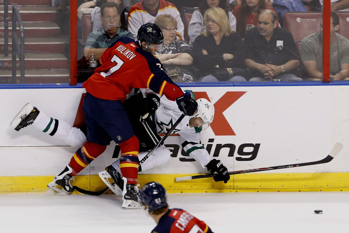 Kulikov's improvement has started with his defensive play.