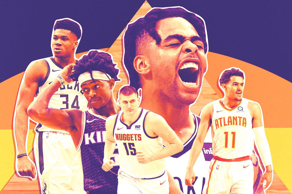 c642da46e5e Getty Images Ringer illustration. Writing about the five players I found  most interesting during the 2018-19 NBA ...