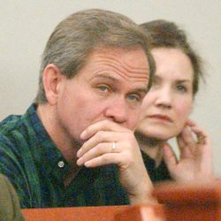Ed and Lois Smart,  parents of Elizabeth Smart, attend a closure hearing for Brian David Mitchell, Elizabeth Smart's alleged kidnapper, in 3rd District court at the Matheson Court House in Salt Lake City, Utah, on Thursday morning, January 6, 2005.  Photo by Laura Seitz/Deseret Morning News
